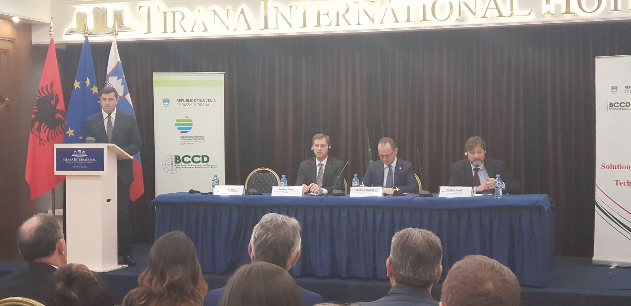 Sipërmarrësit e Dhomës së Tregtisë dhe Industrisë Tiranë, takime biznesi me sipërmarrësit Sllovenë