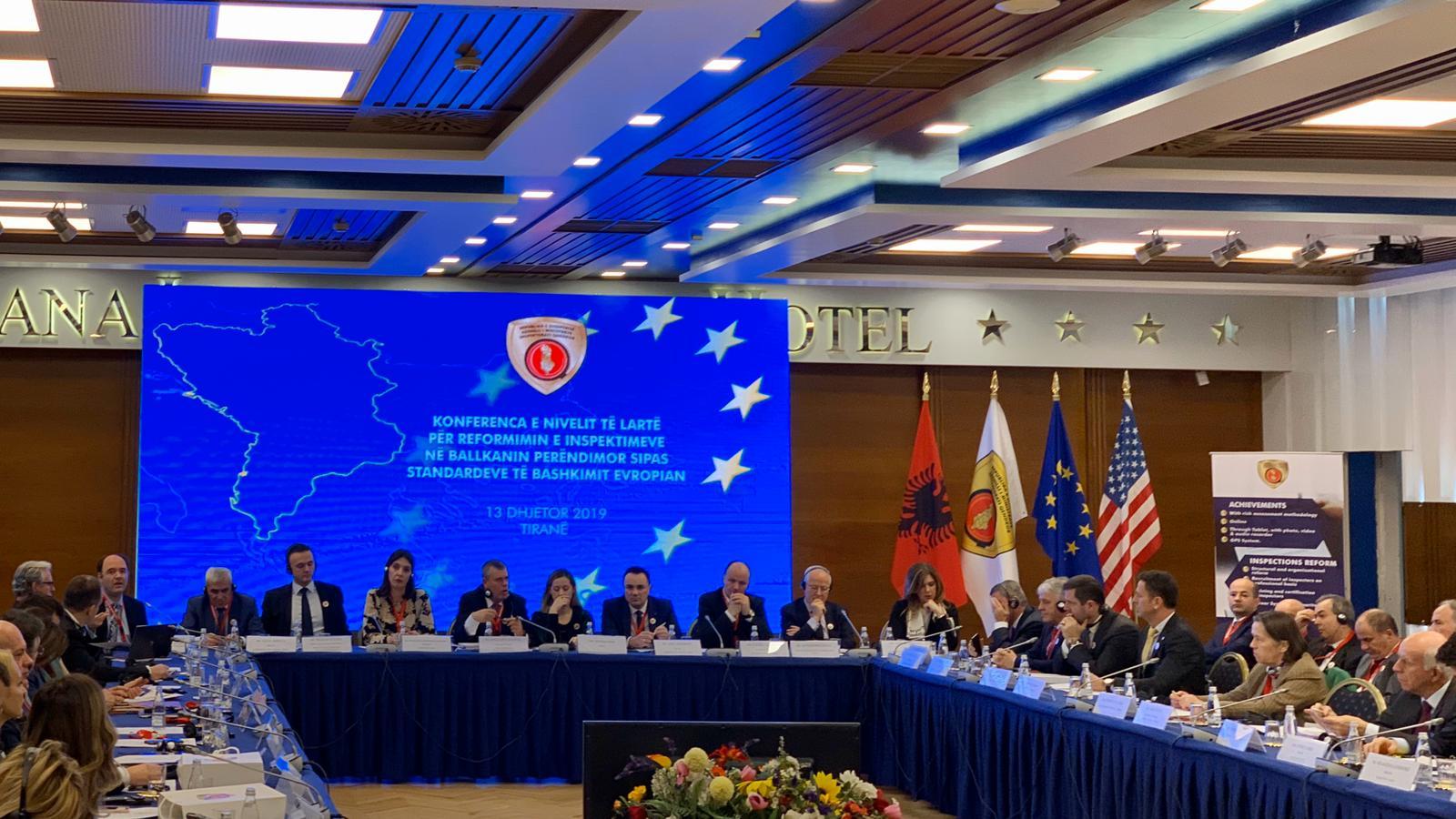 """Pjesëmarrja e Z. Jaka në """"Konferencën e Nivelit të Lartë për reformimin  e Inspektimeve në Ballkanin Perëndimor sipas Standardeve të BE-së"""""""