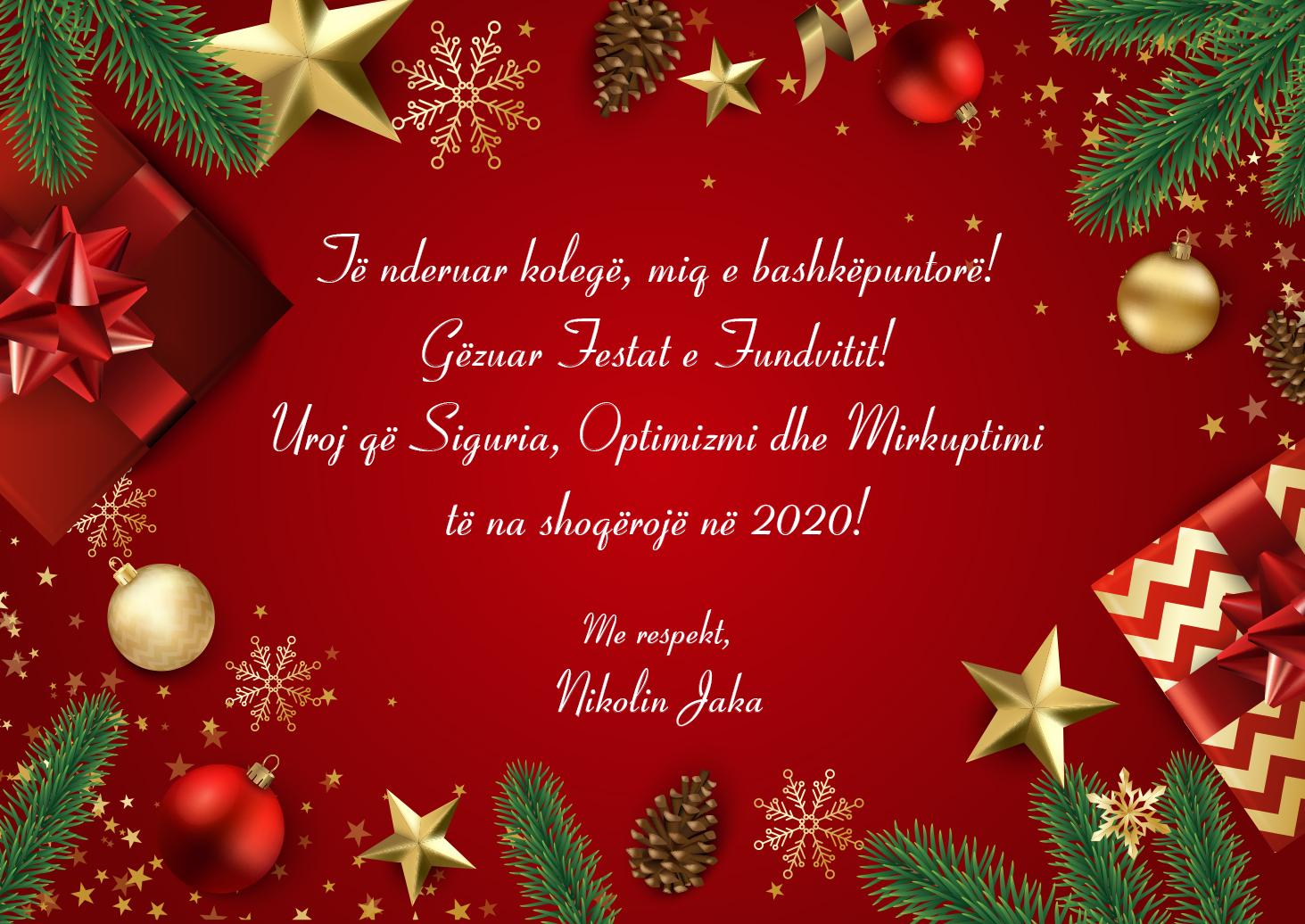 Greetings from Mr. Nikolin Jaka
