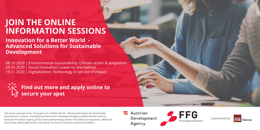 An opportunity for your network: Online info sessions on pilot funding scheme by ADA and FFG