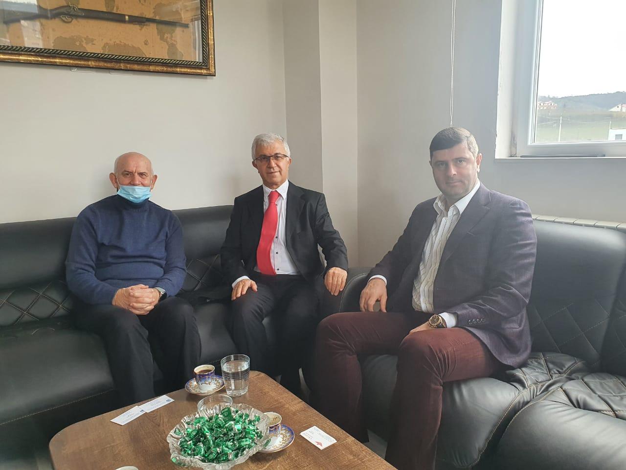 """Kryetari JAKA viziton kompaninë """"Çağatay Logistics Albania"""""""