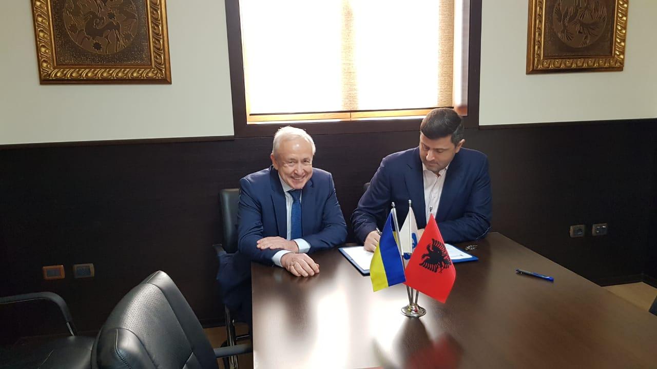Dhoma e Tregtisë dhe Industrisë Tiranë, marrëveshje bashkëpunimi me Dhomën e Tregtisë dhe Industrisë së Kievit
