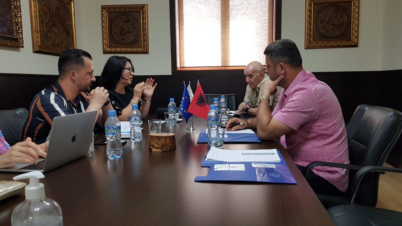 Kryetari i DHTIT në takim me Nidaa Sabbgah: Investimet në Shqipëri duhet të jenë me karakter global